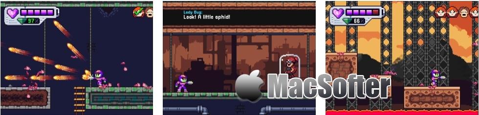 [iPhone/iPad限免] Mighty Aphid : 洛克人风格动作游戏