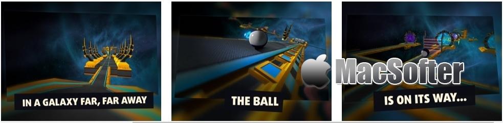 [iPhone/iPad限免] Ball Alien :太空主题3D滚球游戏
