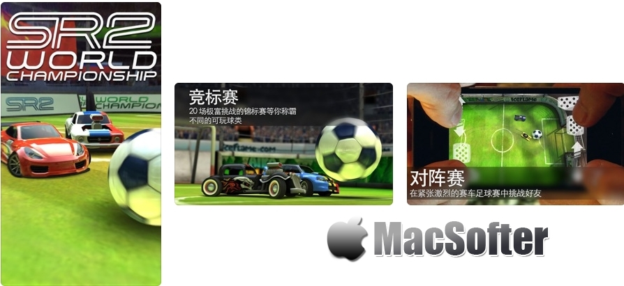 [iPhone/iPad限免] Soccer Rally 2 :足球赛车游戏