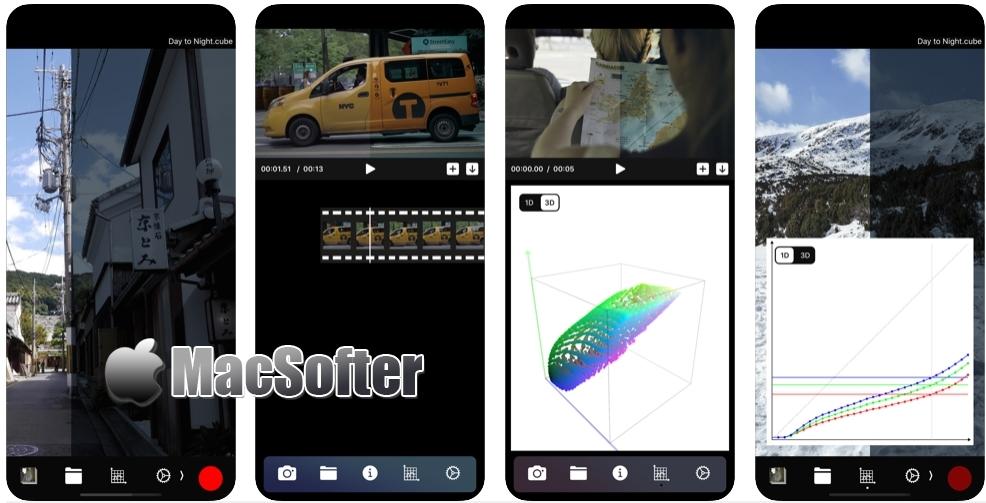 [iPhone/iPad限免] Cineon : 摄影爱好者LUTs管理工具