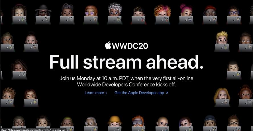 WWDC 2020怎么看?在哪里看?苹果官方WWDC直播地址上线