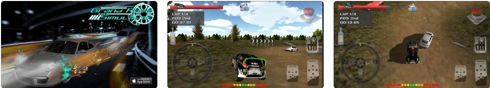 [iPhone/iPad限免] Grand Race Simulator 3D : 3D赛车竞赛模拟游戏