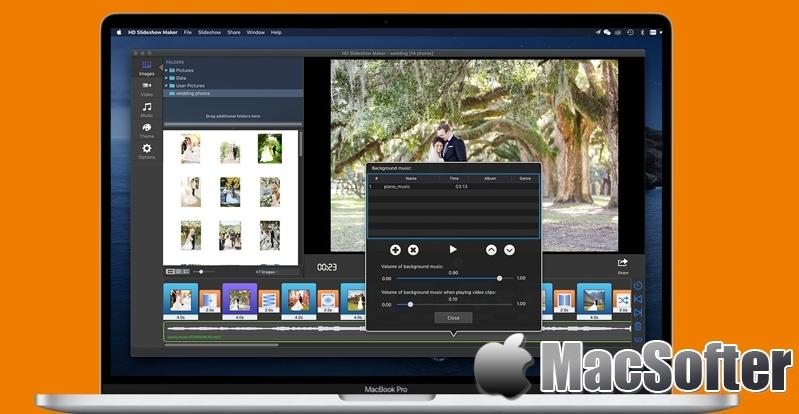 [Mac] HD Slideshow Maker :视频幻灯秀制作软件