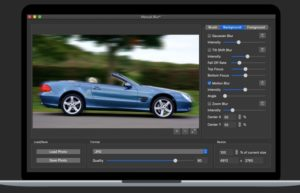 [Mac] Photo Blur FX : 照片模糊处理工具
