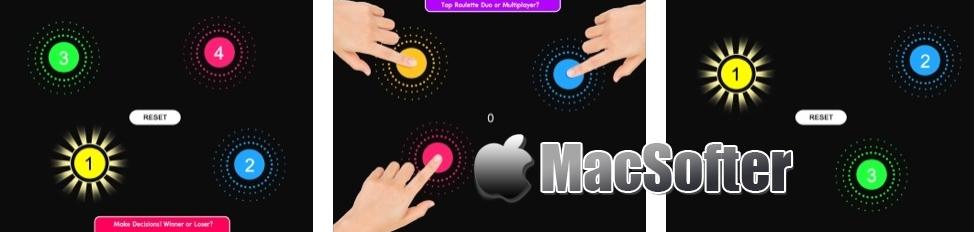 [iPhone/iPad限免] Touch Roulette :选择类趣味休闲手游