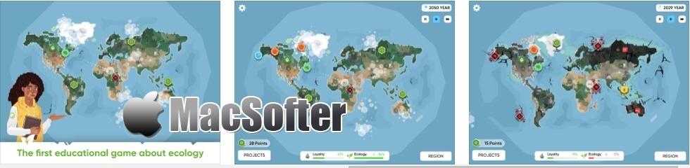 [iPhone/iPad限免] Save the Earth: Climate Strike - 环保主题的模拟经营游戏