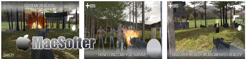 [iPhone/iPad限免] W.AR :AR射击战斗游戏