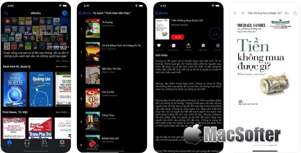 [iPhone/iPad限免] Kho eBooks & Audiobooks : ePub和PDF文件阅读器