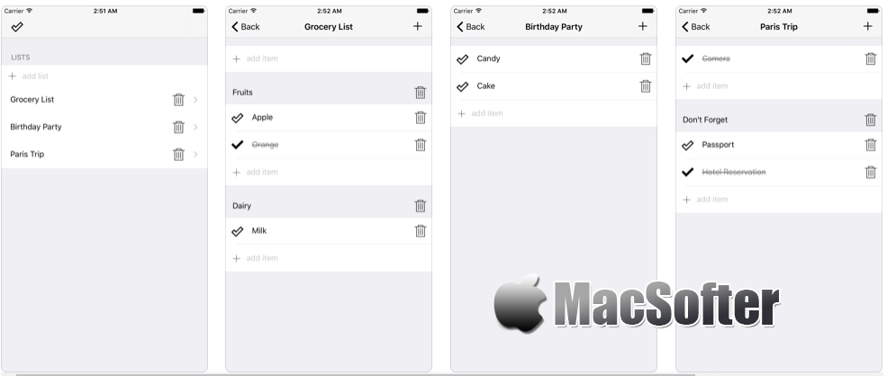 [iPhone/iPad限免] CheckLeast :简洁实用的清单软件