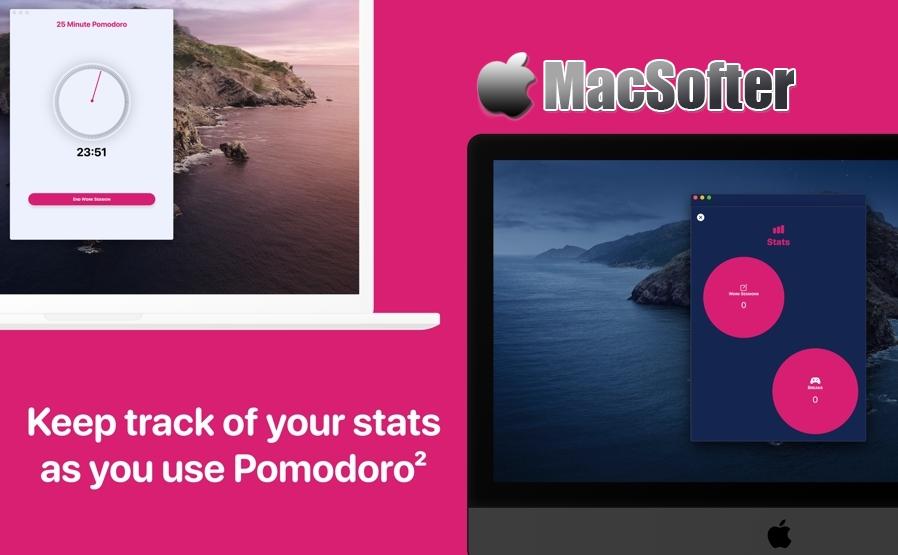[Mac/iPhone/iPad限免] Pomodoro² :番茄工作法软件
