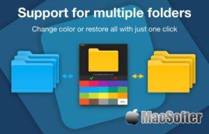 [Mac] Color Folder Master :文件夹图标颜色自定义更改工具