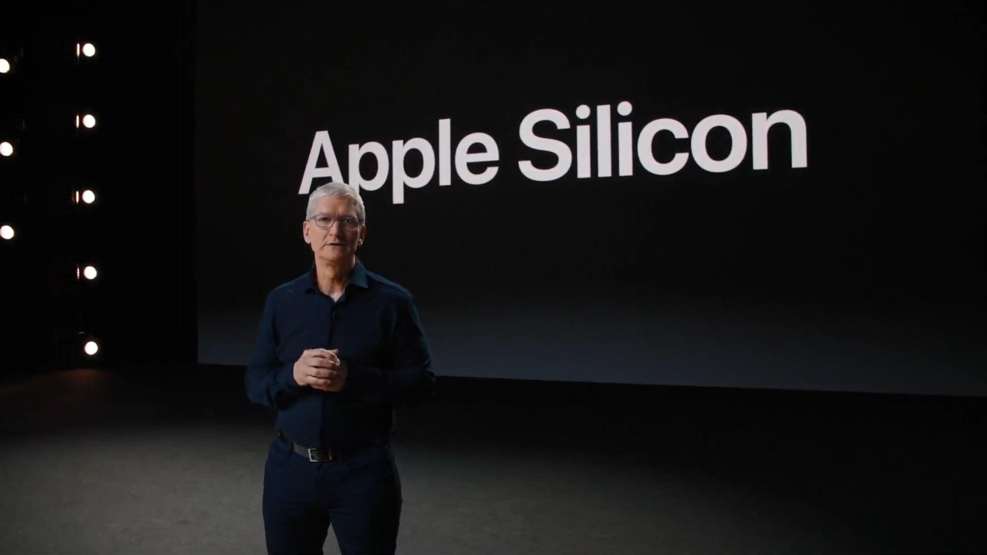 Apple宣布将会推出自家芯片的Mac产品