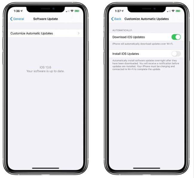 跳过iOS 13.5.5 : iOS 13.6 Beta 2正式发布