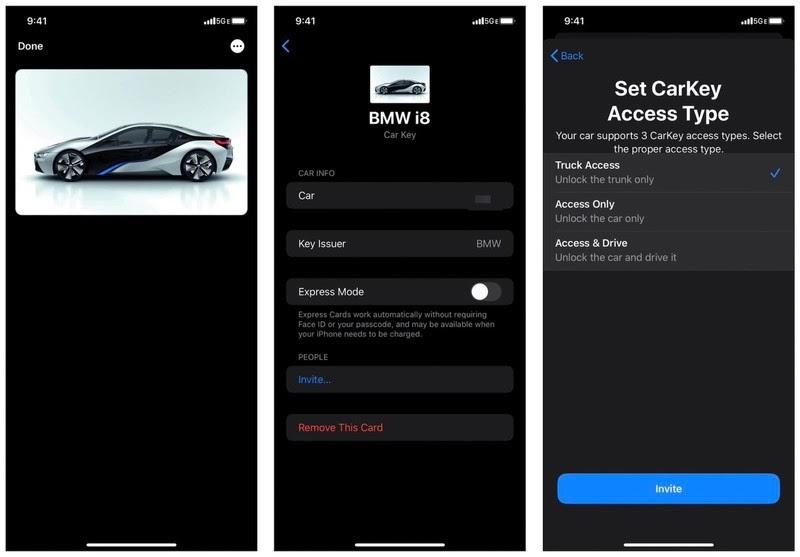 什么是CarKey?如何用iPhone 解锁、锁定和启动汽车