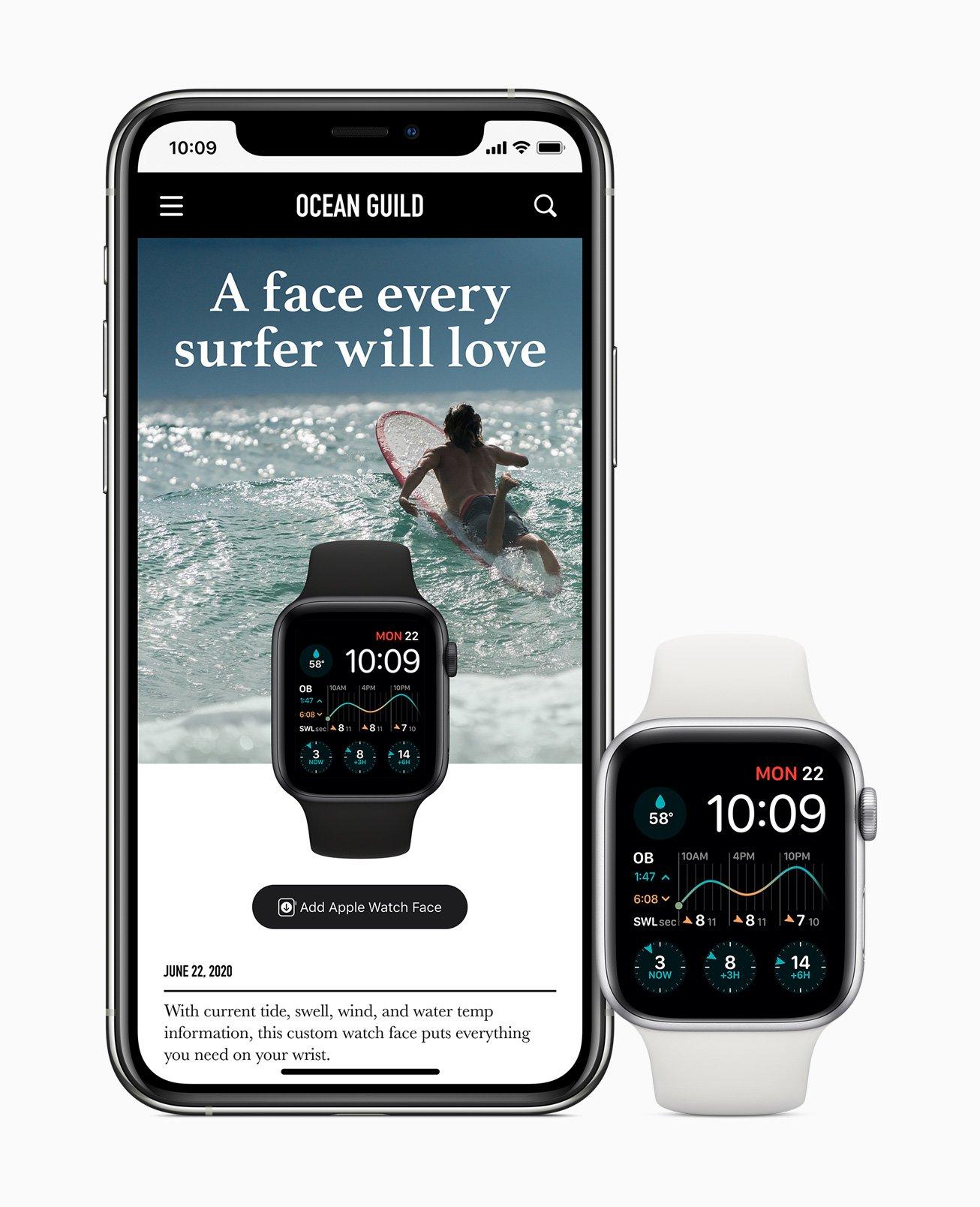 更出色的Watch Face 及分享功能