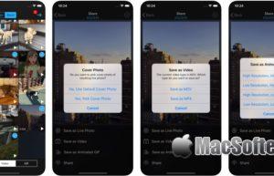 [iPhone/iPad限免] Live Convert :Live Photo实况照片及视频转Gif动图