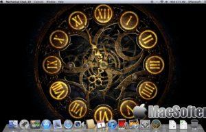 [Mac] Mechanical Clock 3D : 3D动态机械时钟桌面壁纸软件