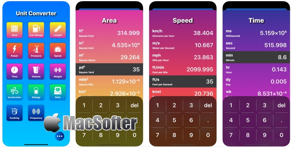 [iPhone/iPad限免] The Conversion App : 实用的单位换算工具