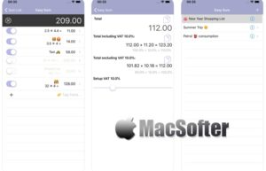 [iPhone/iPad限免] Easy Sum :集成了计算功能的购物清单工具