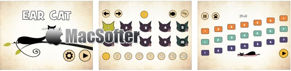 [iPhone/iPad限免] Ear Cat : 培养音乐鉴赏力的音乐教育游戏
