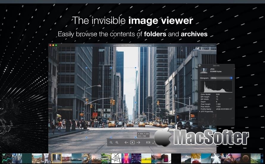 [Mac] Pixea : 免费好用的看图软件