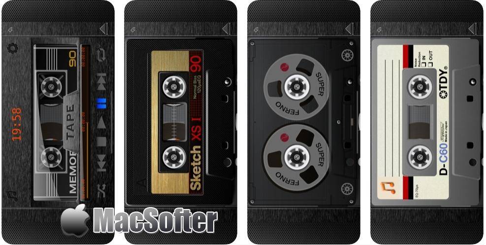 [iPhone限免] Tape : 复古磁带风音乐播放器