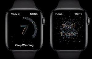 watchOS 7 新功能: 回家洗手提示