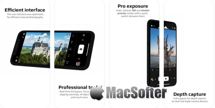 [iPhone/iPad限免] Chromatica camera :支持RAW格式的手动相机软件