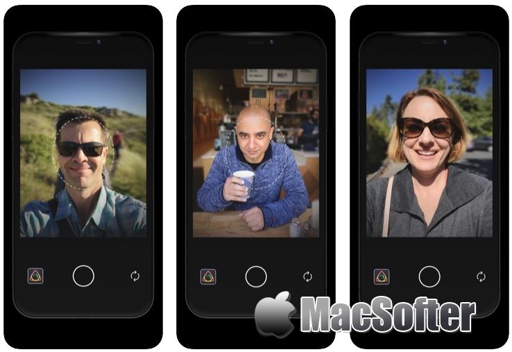 [iPhone/iPad限免] Depthshot : 背景虚幻人像照片相机软件