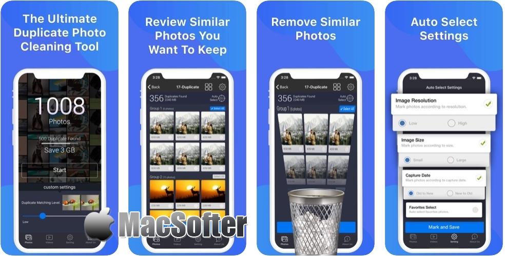 [iPhone限免] Photos Cleaner :重复照片清理工具