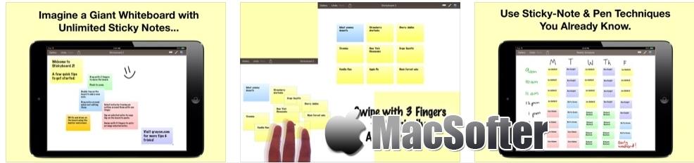 [iPhone/iPad限免] Stickyboard 2 :便利贴形式的思维导图软件