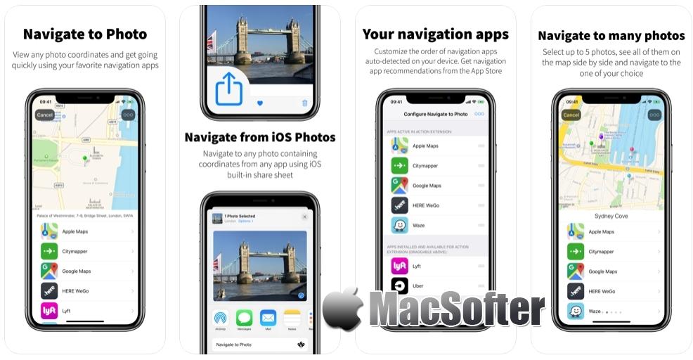 [iPhone/iPad限免] Navigate to Photo :带去你照片拍摄地点的导航软件