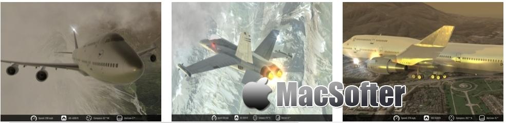[iPhone/iPad限免] Flight Unlimited X : 极限飞行游戏