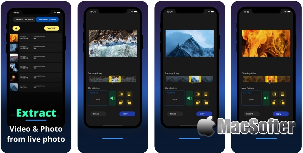 [iPhone/iPad限免] Live+ : 视频转动态实况照片互转工具