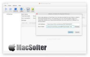 WFDownloader App for Mac : 网页资源批量抓取下载工具