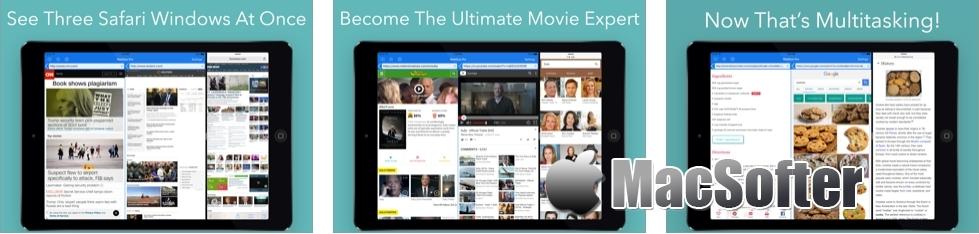 [iPhone/iPad限免] WebDuo Pro :双窗口浏览器