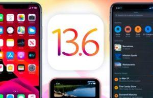苹果关闭iOS 13.6 认证 : 防止iOS 13.6.1降回旧版本