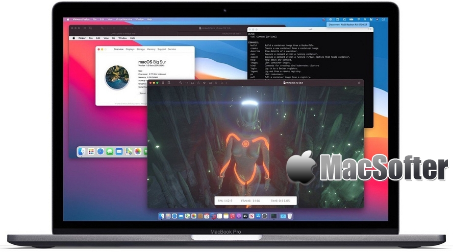 VMware Fusion 12 正式发布:个人用户免费用VMware Player