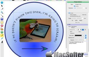 Growly Draw for Mac : 简单方便的画图工具