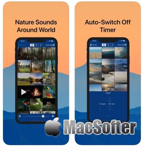 [iPhone/iPad限免] Nature :全世界自然声音的白噪音软件