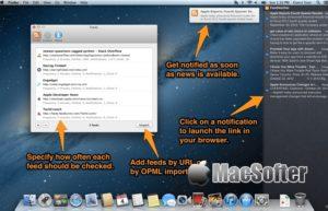 Feed Notifier for Mac :RSS更新即时通知工具
