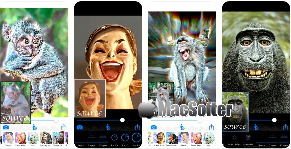[iPhone/iPad限免] HDR Portrait : 照片艺术肖像特效处理工具
