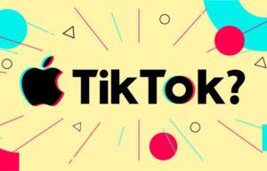 Apple回应TikTok收购传言:没这回事