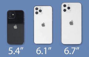 今年iPhone 12发布可能分两阶段:两款6.1寸打先锋