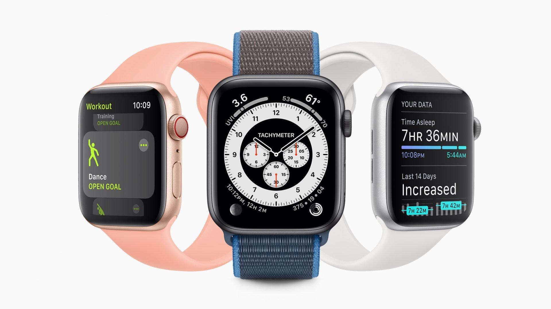 7 款新iPad、8款Apple Watch Series 6 型号曝光