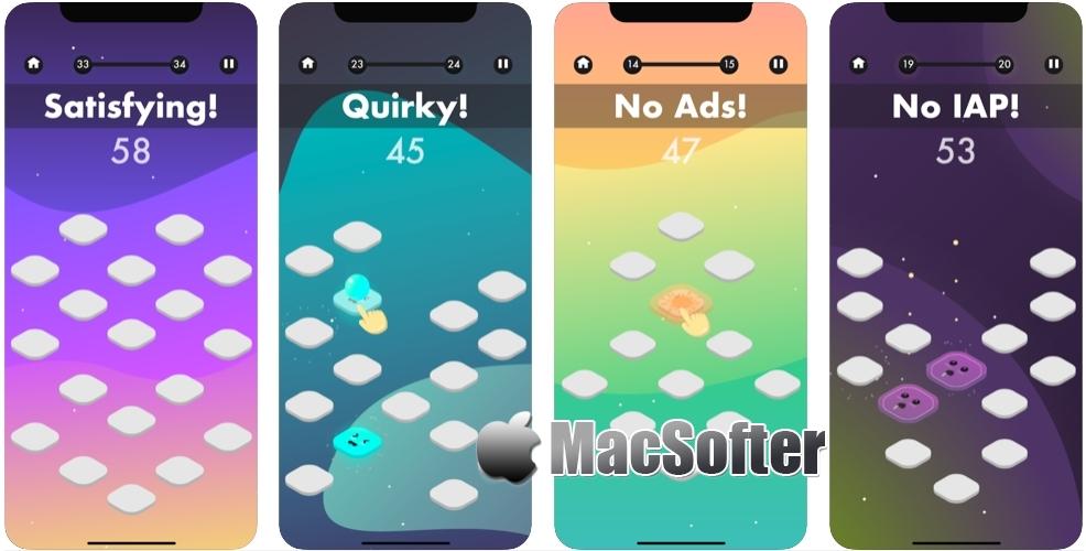 [iPhone/iPad限免] Matchy Moods :休闲的记忆力游戏