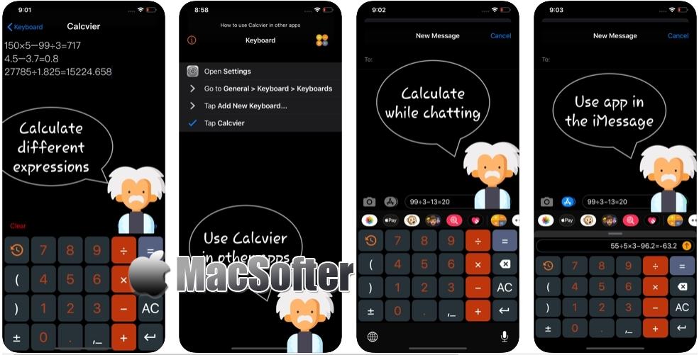 [iPhone/iPad限免] Calcvier :方便的计算器键盘输入法
