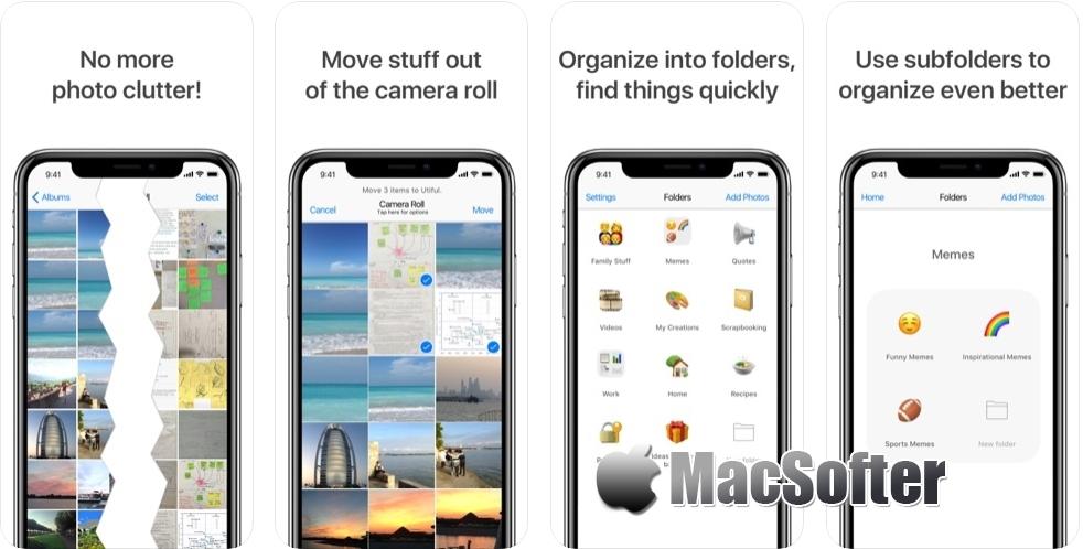 [iPhone/iPad限免] Utiful 相册管家:方便实用的照片管理工具