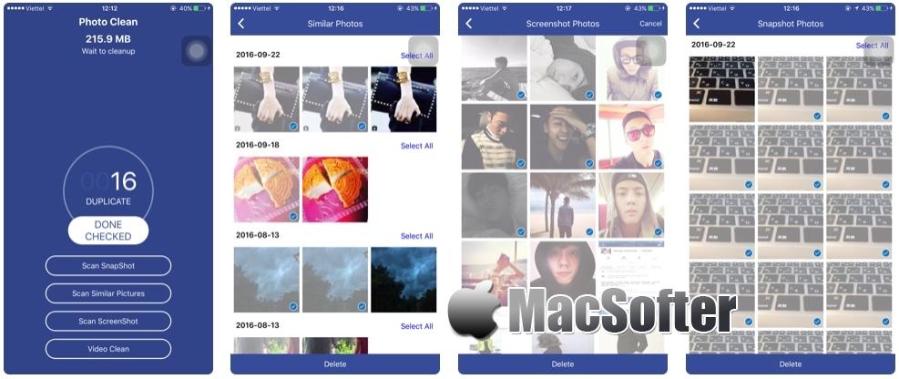 [iPhone/iPad限免] Photo Cleaner : 重复及相似照片扫描清理工具