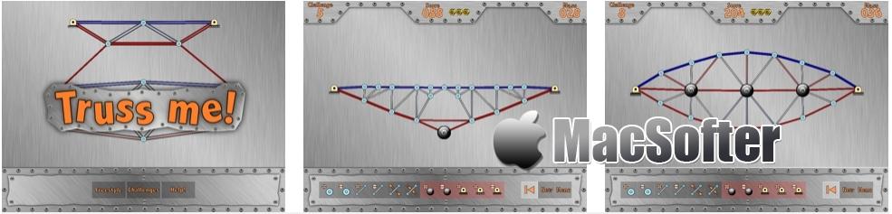 [iPhone/iPad限免] Truss Me! :结构设计模拟游戏